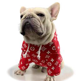 panno di hoodies di modo Sconti Cucciolo del panno classico camice cane di modo casuale con cappuccio Teddy Puppy Abbigliamento casual autunno outwears Abbigliamento Pet