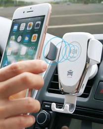 2019 положение автомобиля Автомобильный локомотив позиционирования беспроводное зарядное устройство автомобильный держатель телефона индукционное зарядное устройство QI беспроводное зарядное устройство быстрой зарядки DHL feer скидка положение автомобиля