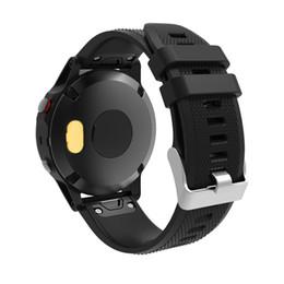 Spine resistenti alla protezione della porta e antipolvere per Garmin Fenix 5 Sostituzione Smart Watches Cinturino da polso Brac 35 da