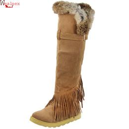 3359033d6 botas cómodas mujeres marrones Rebajas Wealsex Otoño e Invierno Mantener Botas  cálidas Mujeres Casual Cómodo de