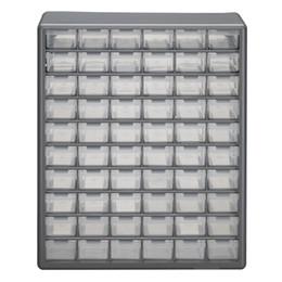cajon de juguete Rebajas Organizador de almacenamiento Gabinete 60 Piezas de cajón de plástico Contenedor contenedor Juguete Garaje