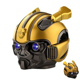 2019 alto-falante bluetooth hy Bumblebee Bluetooth Speaker Portátil FM sem fio Bluetooth 5.0 Speaker Portátil Transformadores Car Moda Mini Stereo USB Speaker