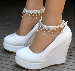 6486c018f2 Crystal Wedding Shoes Wedges Online Shopping | Crystal Wedding Shoes ...