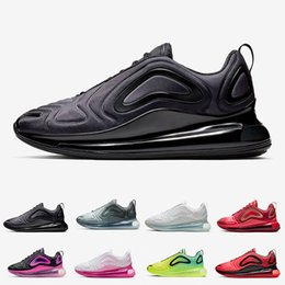 Refroidissement léger en Ligne-720 Hommes Femmes Chaussures de course Northern Lights Night Triple Black Eclipse totale Cool Grey Volt Argent métallique Trainer Baskets sport taille 36-45