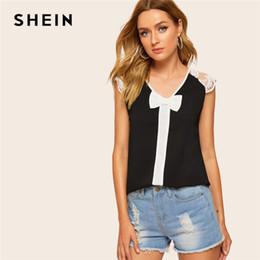 1368a31c Distribuidores de descuento Blusa De Oficina Mujer Cuello Arco ...