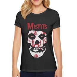 Tapeten frauen online-Damenbekleidung Misfits Wallpaper Shirt T-Shirt Baumwollmischung Sortiert