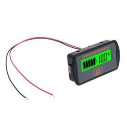 18650 Lithium 12 V Blei-S/äure-Batterie Power Tester Kapazit/ät Indikator 3,7 V 2S-4S 12v