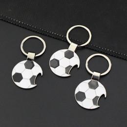 2020 anel da copa do mundo Personalidade Electroplate Keychain Football Abridores Chaves Fivela Anel 2018 Copa do Mundo de Metal Aolly Chaveiro ZZA1388a 500PCS anel da copa do mundo barato