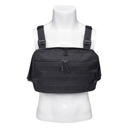 Homens Tático Sacos De Ombro Novo Peito Rig Streetwear Funcional Tático Saco De Peito Cruz Ombro Saco de