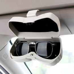 ионные стекла Скидка Автомобильные очки чехол для хранения Box Pass Card для хранения автомобилей-стилизация Универсальной закладочных Организаторов Box уборки