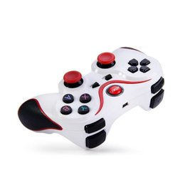 Giochi per android per android online-2019 T3 Wireless Bluetooth Gamepad Joystick Gioco Gaming Controller Telecomando per Samsung HTC Android Smart phone Tablet TV Box
