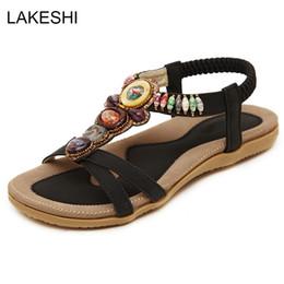 2019 frauen Sandalen Sommer Frauen Schuhe Mode Strand Schuhe Flache Sandalen Komfort Weibliche Alias Damen Plus Größe 42 von Fabrikanten