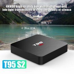 10шт T1 4K Смарт Google голосового управления ATV ОС Android 7.1 TV коробки, 2GB / 16GB 1GB / 8GB, S905W Quad Core от