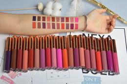 2019 color de labios rosa 20 colores sin logo brillo de labios no-cup-stick nuevos llegan rosa dorado tapa líquida barra de labios diseño para EU US maket rebajas color de labios rosa