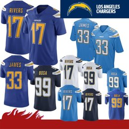 15d16cba 17 Philip Rivers 28 Melvin Gordon Limited Los Angeles 33 Derwin James  Charger jersey 99 Joey Bosa Football Jerseys Color Rush Mens Adult New