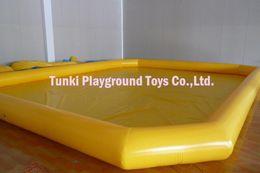 2019 agua inflable tizip 20 * 20 * 1,6 pies duradera piscina de agua inflable