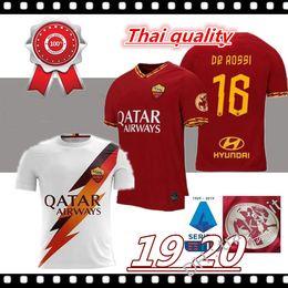 El shaarawy trikot online-Thailändische Qualität 2019 2020 EL SHAARAWY NAINGGOLAN Fußball Trikot 19 20 ROME Fußball TOTTI ROMA DZEKO Sports DE ROSSI Trikot