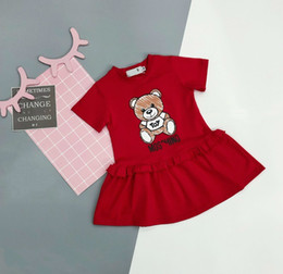 7b407daeef3e5 bear baby dresses girls Coupons - Children's wear girl baby Young child  skirt 2019 new products Find Similar