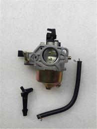 Benzinvergaser online-Benzinmotorteile 188F190F Vergaser 5KW Power Pump Vergaser GX390 Ölschalter Vergaser