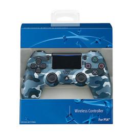 Controlador sem fio sony® ps4 on-line-Qualidade oficial ps3 ps4 gamepad controlador sem fio para sony playstation 4 consola de videogame playstation 3 joystick (16 cores)
