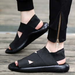 2019 y3 sandali Estate Y-3 Sandalo Qasa Nero Nuovo y3 Sandali KAOHE Per Uomo Donna Y3 Pantofola Vendita calda di alta qualità y3 sandali economici