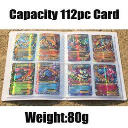Carpetas de libros online-Pokémon CCG MTG Magic Yugioh Tarjetas de juego de mesa 115 Tarjetas Capacidad Tarjetas Titulares Carpetas Álbumes Manga titular