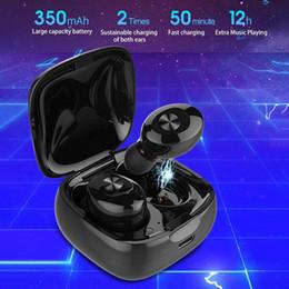 Araç Kiti Yüksek kalite XG12 tws inear stereo wireles bluetooth 5.0 mini kulaklık handfree kulak kulaklıklar müzik kulaklık iphone samsung için nereden tabletler çağrısı tedarikçiler