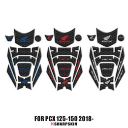tank pads Promo Codes - 3D Fairing Gas Cap Tank Pad protection Sticker Decal for Honda PCX 125 150 PCX125 PCX150 2018 2019