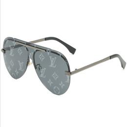 lados de cuero gafas Rebajas 2019 gafas de sol de aviador nueva tendencia de la moda gafas de sol gafas de marco grande de gama alta de moda las mujeres