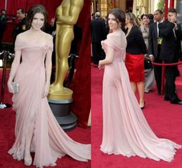 2020 elie saab einfach Erröten Schulterfrei Elegante Spitze 3D Blume Abendkleid Einfache Celebrity Dress Runway Schwangere Fee Modest Side Split Prom Dresses Elie Saab günstig elie saab einfach