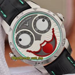 relogios automáticos exclusivos Desconto V9 Top Versão Konstantin Chaykin Coringa ETA 2824 Mecânico Automático Coringa Russa Moon Phase Dial Mens Watch Pulseira De Couro Relógios Exclusivos