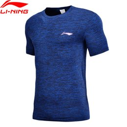 0fa4073f7 Li-ning Men Basketball Jerseys Slim Fit Seamless Breathable Nylon Polyester  Lining Comfort Sports T-shirts Atsn051 Mts2778 Q190521 discount pink  basketball ...