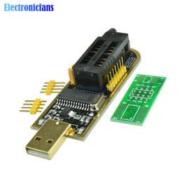 Argentina ¡Envío gratuito de identificación automática! 10 Unids Programador USB CH341A Serie 24 EEPROM Writer 25 SPI Flash BIOS Tarjeta Módulo USB a TTL 5V-3.3V Suministro