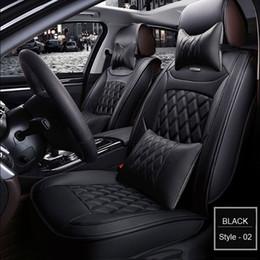 Coperture del bmw della sede dell'automobile online-Coprisedili per auto per Audi a3 a4 b6 a6 a5 q7 BMW Toyota auto 5 posti Interni cuscino di protezione Automotive Coprisedili universale 1 set
