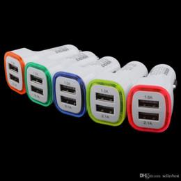 NOKOKO KO-13 LED Dual USB Car Charger 3.1a 12v-24v carregador para telefone móvel Tablet PC Splitter isqueiro Carregador Veicular de Fornecedores de telefones celulares sony xperia