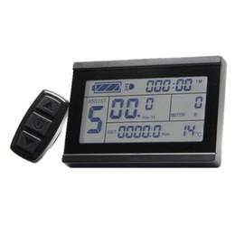 Frete grátis controlador para bicicletas elétricas 24 V 36 V 48 V inteligente KT LCD3 Display de