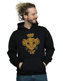 Rey león sudadera con capucha online-Sudadera con capucha The Lion King Future King para hombre