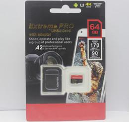 vente au détail de cartes sd Promotion 2019 Vente chaude lastest meilleur 128GB 256GB 64GB 32GB carte SD vente chaude avec adaptateur Blister Generic Retail Package
