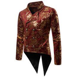 Automne et hiver des modèles de mode hommes estampage à chaud des costumes de route smoking costume de soirée robe costume de revers des hommes ? partir de fabricateur