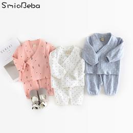 Gilet de bébé coréen en Ligne-2018 INS Garçons Bébé 2pcs Ensembles Vêtements Nouveau-Né Ensemble Robe Vest Style Coréen Ensembles Imprimé Arbre Patternb Ensembles
