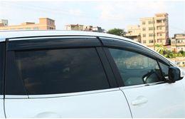 2019 cromo nissan guarnições Apto Para Nissan Maxima 2016 2017 Chrome Guarnição Da Janela Viseiras Guarda Ventiladores Defletores 4 pc cromo nissan guarnições barato