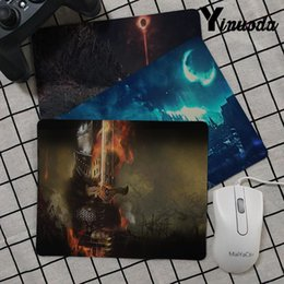 Yinuoda Top Quality Dark Souls piccolo Tappetino per mouse PC Tappetino per computer Smooth Writing Pad Scrivania Mate mat gaming desk da