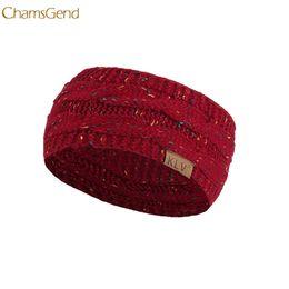 2019 вязание крючком широкая лента 2PCS Knitted Crochet Twist Women Headband Winter Ear Warmer Elastic Hair Bandfemale Wide Hair Accessories #1211 A2# дешево вязание крючком широкая лента