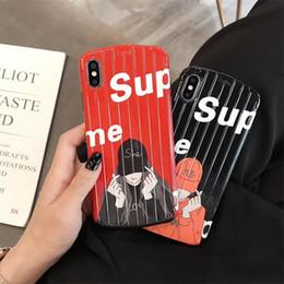 telefone oval Desconto 2019 nova chegada marca phone case para iphone6 / 6 s 6 p / 6 ps 7/8 7 p / 8 p x / xs xr xsmax com design oval carta de moda imprimir capa protetora
