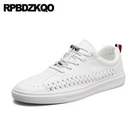 2019 pattini di pattino scarpe uomo stringate bianche designer scarpe da ginnastica nere casual ultime calzature moda traspirante comfort ragazzi sneakers skate estivo pattini di pattino economici