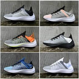 B ropa deportiva online-Ropa deportiva EXP-X14 WMNS Fly SP Zoom Drive Mejora tacones cónicos Calzado casual translúcido superior Zapatillas de running para hombre Mujer Zapatillas deportivas