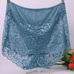 Bikini-mode große größe online-AS13 Fashion Modal Unterhosen Slips Sexy Nahtlose Dessous Unterwäsche 100 kg Große Größe Spitze frauen Höschen