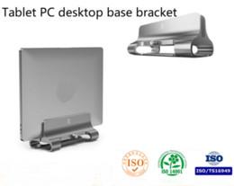 Suporte de notebook suporte de computador desktop vertical tablet PC desktop armazenamento prateleira base suporte de Fornecedores de macarrão com fone de ouvido