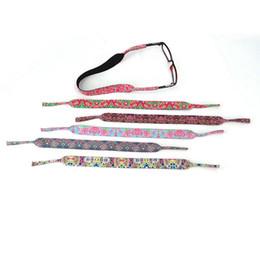Porta-cadeias para óculos on-line-Stretchy Sports Sunglasses Strap Moda Cord Titular Cadeias de Óculos Ao Ar Livre Óculos De Sol Banda Proteção Presente Do Partido TTA889