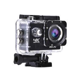 câmeras de espionagem de mini-noite sem fio Desconto Full HD Camera 4K Ação AT-Q1 WiFi 2,0 polegadas Mini DV Sports 30m Waterproof Video Recording Cam 30FPS 1080P USB 2.0